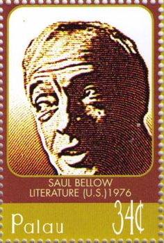 Writer Saul Bellow was honored with the Pulitizer Prize, Nobel Prize for Literature and the National Medal of Arts. He lived in New York City for a number of years. Saul Bellow, Nobel Prize Winners, Going Postal, Old Postcards, Stamp Collecting, My Stamp, Postage Stamps, Asia, Sweden