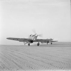 HURRICANE MARK I HAWKER (E 11721)   Rolls Royce Merlin II or III engine. No. 237 (Rhodesian) Squadron, in the Middle East. 12 May 1942.