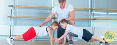 Develop your child's core strength from a young age. Here are some exercises to do at home
