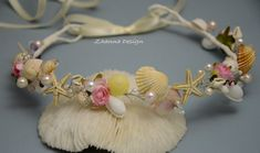 Beach Bridal TiaraWedding SeaShell by ZhannaDesign on Etsy, €30.00
