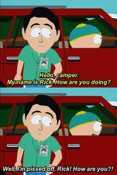 Pissed off Rick..hahaha