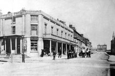 memory lane april 16''Winter Gardens.'Victoria Street in 1860 with Bank Hey House ( THE HOME OF WILLIAM COCKER ) at the far end, an 1846 building, part of which survives inside the Winter Gardens today. / HISTORICAL / BLACKPOOL / The Crystal Palace was built by William Cocker  Read more at: http://www.blackpoolgazette.co.uk/lifestyle/nostalgia/story-of-the-man-dubbed-father-of-blackpool-1-7695152