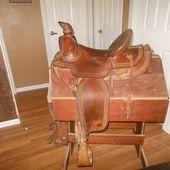 """16"""" Vintage Jerry Franklin saddle for sale!"""