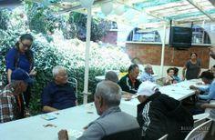 Conviviendo con los abuelitos  Responsabilidad Social BRG Casa Hogar San Vicente de Paul