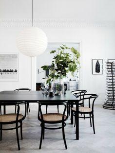 The white home of Lotta Agaton