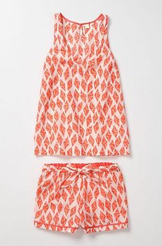 ZOMG, love these PJs! $59.90 at Anthropologie