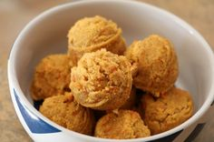 These homemade dog treats are perfect for dogs with allergies, and they're grain free!