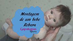 Como é a montagem de um bebe  reborn