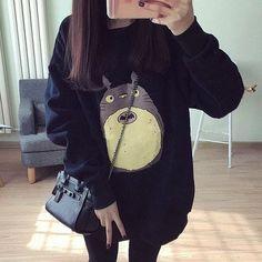 Harajuku cute cat sweatershirt