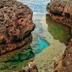 Angel's Billabong, Bali, Indonesia #damniloveindonesia #proudindonesian…