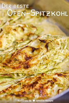Ofen-Spitzkohl köstlich und einfach You have probably never eaten cabbage like this! This delicious and simple oven cabbage convinces everyone. Pointed cabbage is very well tolerated. Lunch Recipes, Summer Recipes, Vegetarian Recipes, Dinner Recipes, Healthy Recipes, Healthy Lunches, Slow Cooker Recipes, Crockpot Recipes, Chicken Recipes