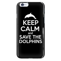 Keep Calm & Save the Dolphins - Phone Cases