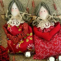 Anjos pingentes de árvores de Natal by ENTRE LINEAS