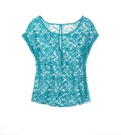 Aerie Lace Peek-A-Boo T