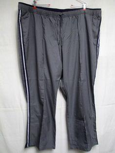 Duo Maternity Athletic Sports Yoga Pants Stretch Polyester Gray Pocket Womens 4X #DuoMaternity #SportYoga