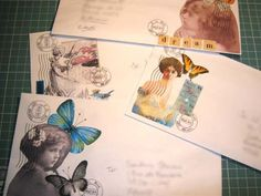 Envies 365/19 to 22 - Mailart 365 by Andrea - Mil Pontinhos