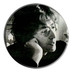 ONLY ONE John Lennon 2-1/4 Inch Button