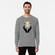 'Meredith Christina Grey's Anatomy You're My Person' Lightweight Sweatshirt by lorrinani Sweat Shirt, V Neck T Shirt, Shirt Men, Men Shirts, Lawley Kian, Manga Raglan, T Shirt Original, Youre My Person, Vintage T-shirts