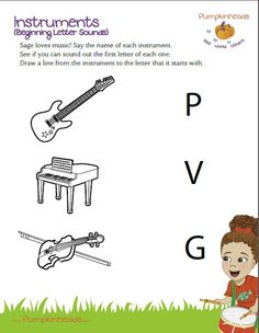 Printables Instrument Worksheets For Preschool english worksheet musical instruments music vocabulary check out our pumpkinheads worksheets for the classroom and at home