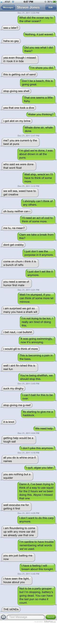 I cannot wait to have this type of conversation with my bestie in the Navy.