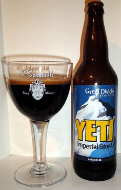 Yeti Imperial Stout by Great Divide Brewing Co.