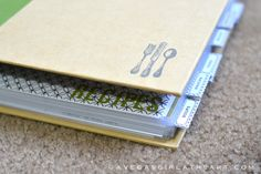 Pl inspired recipe book diy with printables