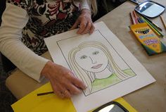 "I just finished the 4th workshop in my ""Teaching Teachers to Teach Art"" series .  This workshop focused on teaching Self-Portraits  and we ..."