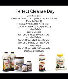 Cleanse Day Guide