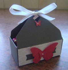 Boîte Stampin'Up faite avec l'Insta Enveloppe