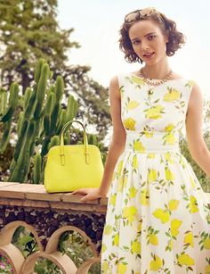 Kate Spade dress Spring Summer 2014, except these colors would look terrible on me.