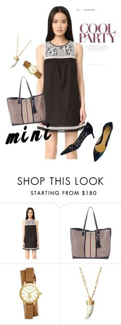 """""""mini"""" by masayuki4499 ❤ liked on Polyvore featuring Tory Burch"""
