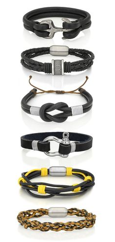 Mens bracelets | Raddest Men's Fashion Looks On The Internet: http://www.raddestlooks.org