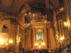 Interior de la iglesia de San Antón. Calle Hortaleza