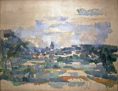 Paul Cezanne - Route Tournante (The winding Road) 1904