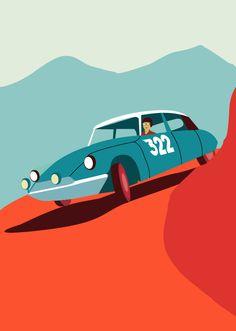 Citroën DS19 (1955) - Javier Busto
