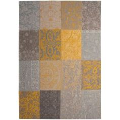 Dywany Vintage Patchwork :: Vintage Patchwork 8084 yellow -