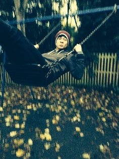 Swinging is one of his Hobbies