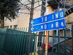 Vecchia #Milano ....i cartelli stradali... :-) Milano da Vedere