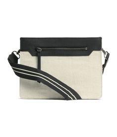 Small cotton twill shoulder bag | Party in H&M