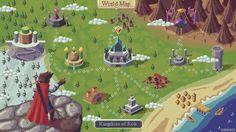 RPG map mockup - Choose location by kirokaze on DeviantArt