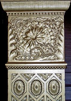 Louis Sullivan Ornamental Newel