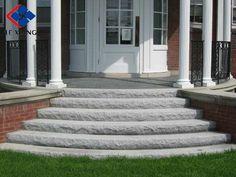 Curve granite stair