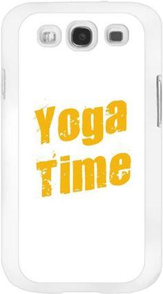 Ayşe Kucuroğlu - Yoga Time Kendin Tasarla - Samsung Galaxy S3 Kılıfları