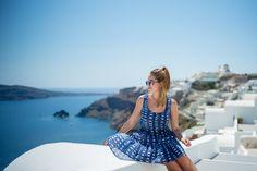 Blue & White Santorini // Sam Patterson x samjpat x