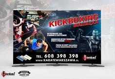 """KickBoxing na Białołęce - to kolejny projekt zrealizowany na zlecenie Pana Grzegorza Jarosa, prezesa Klubu Karate """"Sekai"""". Już niebawem widoczny na warszawskiej Białołęce. :)"""