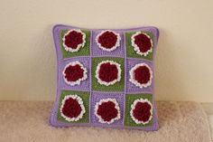 ✎ ✎ Crochetar Capa de Almofada Decoração Doméstica Decorativa -  /  ✎ ✎ Crochet Cushion Cover Home Décor Decorative -