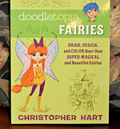 Doodletopia Fairies, a book on how to draw fairies! #bookreview