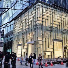 New @Coach, Inc., Inc., Inc., Inc. Store in Omotesando by @Shayla Bradley Bradley Bradley Shigematsu OMA NY - architecture