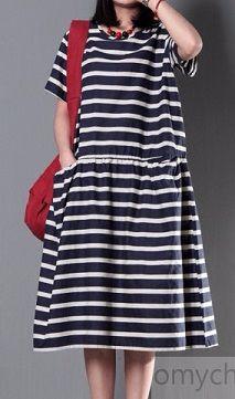Striped_cotton_sundress_plus_size_linen_maxi_dress_summer_maternity_dress1 (213x361, 75Kb)