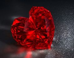 heart, red, and diamond
